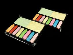 1000 pcs. Sticky Notes & Arrow Flag Markers, Assorted Colors