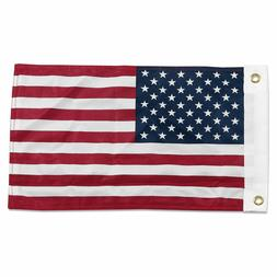 "12x18 12""x18"" USA American 50 Star Motorcycle Boat Flag Grom"