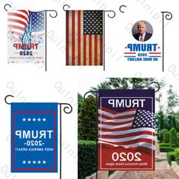 12x18 Inches Trump 2020 Garden Flag Keep Make America Great