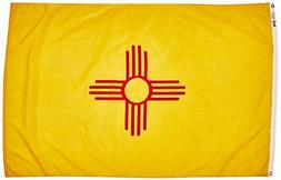 Annin 143770 New Mexico State Flag, 4 by 6 Foot