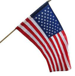 2.5x4 2.5 x 4ft US USA AMERICAN FLAG SLEEVE & HEM House Pole