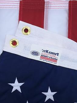 "2.5x4 FT 30""x48"" VALLEY FORGE NYLON  US AMERICAN FLAG ""FULLY"