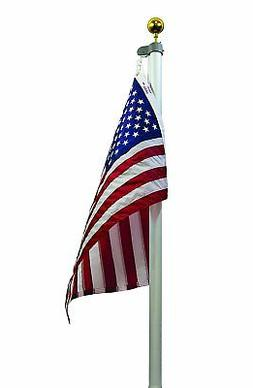 20 FT 3 Inch Butt Commercial Valley Forge Tapered Flag Pole