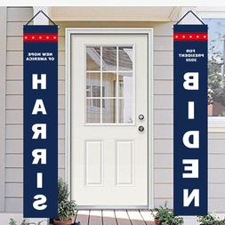 2020 Biden Harris Flag Garden Banners and Sign Patriotic Out