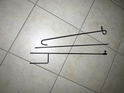 3 Piece Wrought Iron Garden Flag Stand by Evergreen For Smal