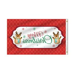 3' X 5' Merry Christmas Holiday Party Outdoor Home Decor Rec