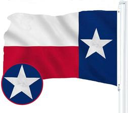 G128 – Texas State Flag US USA   2x3 ft   Embroidered 210D