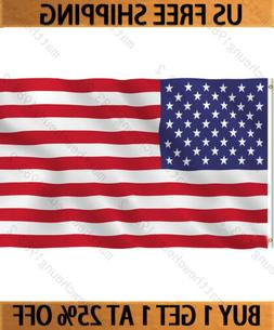 3x5' Foot American US Flag USA Flags Polyester Stars & Strip