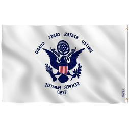 Anley Fly Breeze 3x5 Foot US Coast Guard Flag - United State