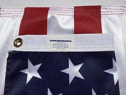 3x5 FT Valley Forge US American Flag Ultra Knit Polyester Co