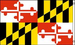 3x5 Maryland Flag 3'x5' House Banner grommets super polyeste