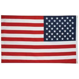 US FLAG 3x5 Foot Polyester USA American Stars Stripes United