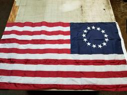 3x5 Embroidered Betsy Ross USA 200D Sewn Nylon Flag Banner -