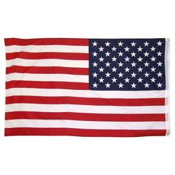 4x6 Ft American Flag USA Stars Stripes US with Grommet - 100
