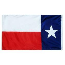 4x6 FT TX TEXAS FLAG ANNIN FLAG FULLY SEWN FMAA CERTIFIED 1