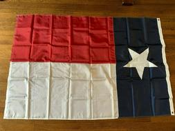 4x6 Texas Flag Embroidered Texas State Banner Grommets Nylon