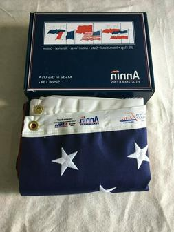 4x6 Annin Tough-Tex 2 ply Polyester Flag made in the USA