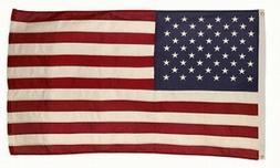 4x6 FT US American Flag Best 100% Cotton Valley Forge Flag E