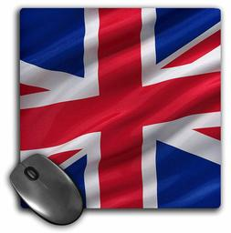 "3dRose 8 X 8 X 0.25"" Mouse Pad Flag of The United Kingdom"