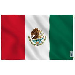 Anley  Fly Breeze  3x5 Foot Mexico Flag - Vivid Color and UV
