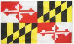Annin Flagmakers Model 142360 Maryland State Flag 3x5 ft. Ny