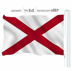 Alabama State Flag 150D Printed Polyester 3x5 Ft