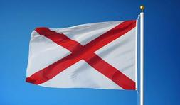 ALABAMA STATE FLAG new superior quality 3x5ft size fade resi