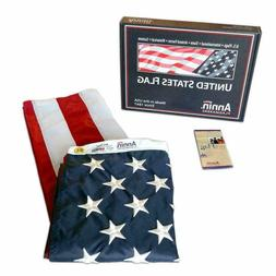Annin Flagmakers American Flag 3x5 ft. Nylon SolarGuard MADE