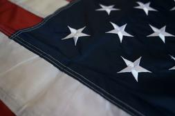 American Flag 3x5 ft Outdoor US Flag UV Protected Embroidere