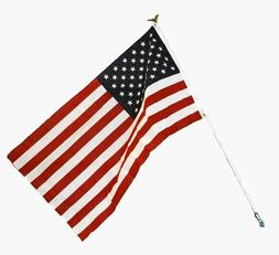 AMERICAN FLAG 5 x 3 Steel Pole & Mounting Hardware Fourth Of