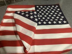 AMERICAN FLAG BANDANA ALL COTTON Made In USA! One Item