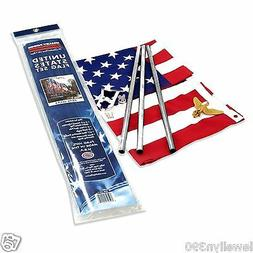 Valley Forge, American Flag Kit, Poly-Cotton, 3' x 5', 100%