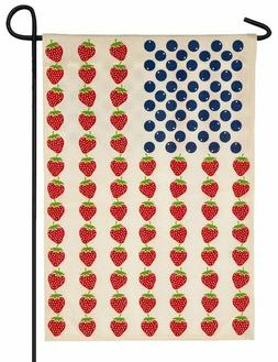 Evergreen  Americana Blueberry & Strawberry Double Sided Bur