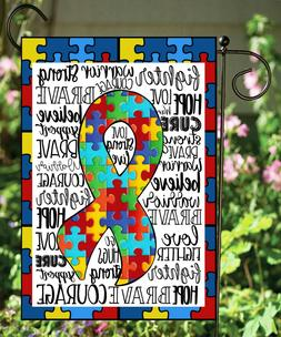 autism puzzle double sided soft quality garden