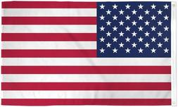 BIG US Flag 4x6 ft Polyester with Metal Grommets USA America