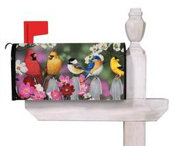 Evergreen Flag Picket Fence Bird Friends Magnetic Mailbox Co