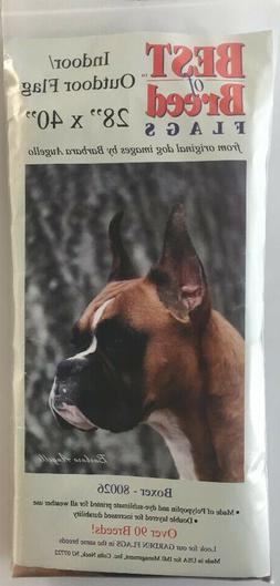 "Boxer Dog Flag Banner by Best of Breed, 28"" x 40"""