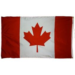 Canada Indoor Outdoor Parade Color Guard Dyed Nylon Flag All