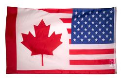 Canada USA Friendship FLAG 3x5FT COMBINATION United States A