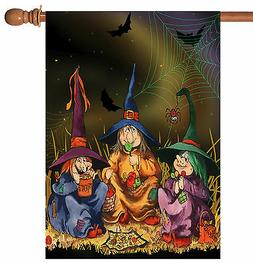 Toland Home Garden  Candy Coven 28 x 40-Inch Decorative USA-