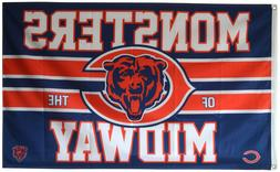 Chicago Bears Monsters of the Midway Flag and Banner