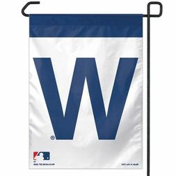 """CHICAGO CUBS """"W"""" 11""""X15"""" GARDEN FLAG BRAND NEW FREE SHIPPING"""