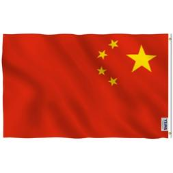 Anley Fly Breeze 3x5 Foot China Flag Chinese National Flags