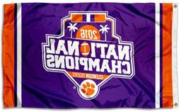 College Flags and Banners Co. Clemson Tigers Football Nation