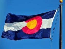 COLORADO STATE FLAG new superior quality 3x5ft size fade res