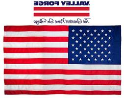Valley Forge American Flag | 2.5'x5' 100% Cotton Flag with S