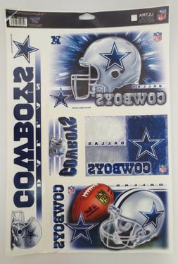 DALLAS COWBOYS DECAL DECALS ULTRA REMOVABLE WINCRAFT SPORT N