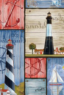Toland Home Garden Decorative House Flag — Boaters Collage