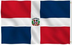 Anley Fly Breeze 3x5 Foot Dominican Republic Flag Dominican