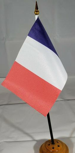 """French 6""""x4"""" flag"""
